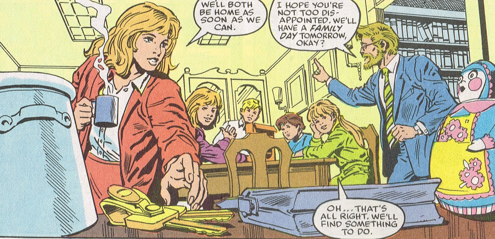 Image result for power pack comic family